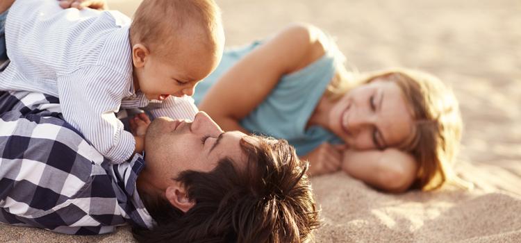 Vacances d'été avec bébé